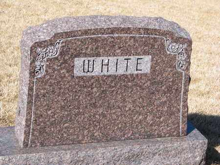 WHITE, (FAMILY MONUMENT) - Cuming County, Nebraska | (FAMILY MONUMENT) WHITE - Nebraska Gravestone Photos