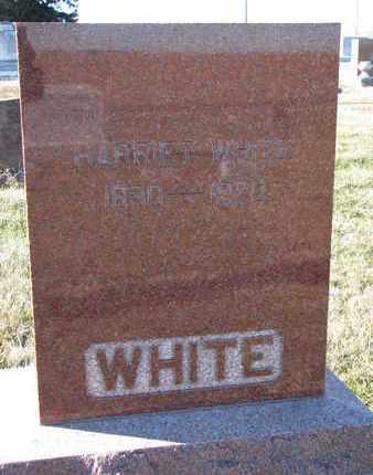 WHITE, HARRIET - Cuming County, Nebraska | HARRIET WHITE - Nebraska Gravestone Photos