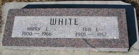 WHITE, HARRY J. - Cuming County, Nebraska | HARRY J. WHITE - Nebraska Gravestone Photos