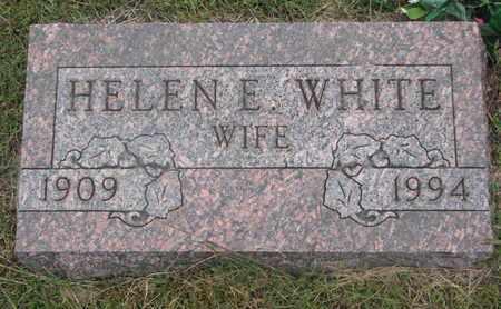 WHITE, HELEN E. - Cuming County, Nebraska | HELEN E. WHITE - Nebraska Gravestone Photos