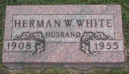 WHITE, HERMAN W. - Cuming County, Nebraska | HERMAN W. WHITE - Nebraska Gravestone Photos