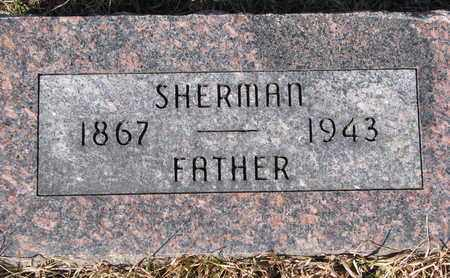 WHITE, SHERMAN - Cuming County, Nebraska | SHERMAN WHITE - Nebraska Gravestone Photos