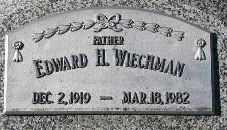 WIECHMAN, EDWARD H. - Cuming County, Nebraska   EDWARD H. WIECHMAN - Nebraska Gravestone Photos