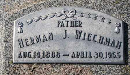 WIECHMAN, HERMAN J. - Cuming County, Nebraska | HERMAN J. WIECHMAN - Nebraska Gravestone Photos