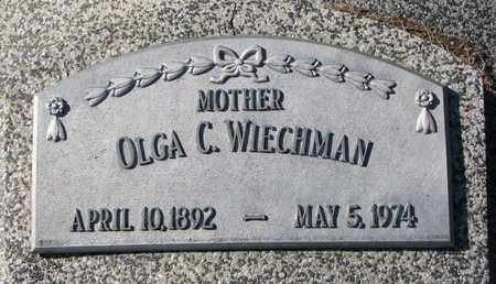 WIECHMAN, OLGA C. - Cuming County, Nebraska | OLGA C. WIECHMAN - Nebraska Gravestone Photos