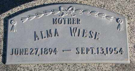 WIESE, ALMA - Cuming County, Nebraska | ALMA WIESE - Nebraska Gravestone Photos