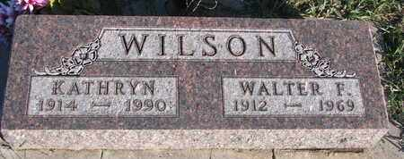 WILSON, KATHRYN - Cuming County, Nebraska   KATHRYN WILSON - Nebraska Gravestone Photos