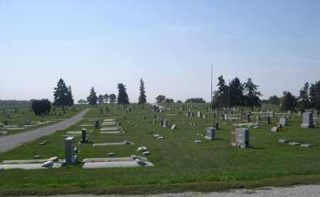 *WISNER CEMETERY, VIEW OF - Cuming County, Nebraska | VIEW OF *WISNER CEMETERY - Nebraska Gravestone Photos
