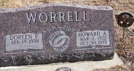 WORRELL, DOREEN F. - Cuming County, Nebraska | DOREEN F. WORRELL - Nebraska Gravestone Photos