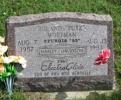 "WORTMAN, ROLAND ""PUTZ"" - Cuming County, Nebraska | ROLAND ""PUTZ"" WORTMAN - Nebraska Gravestone Photos"