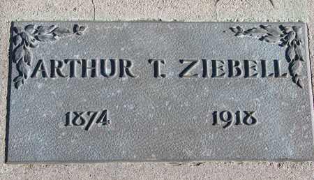 ZIEBELL, ARTHUR T. - Cuming County, Nebraska | ARTHUR T. ZIEBELL - Nebraska Gravestone Photos