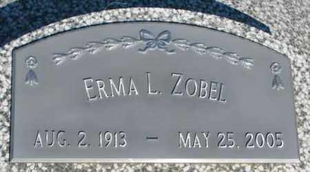 ZOBEL, ERMA L. - Cuming County, Nebraska | ERMA L. ZOBEL - Nebraska Gravestone Photos