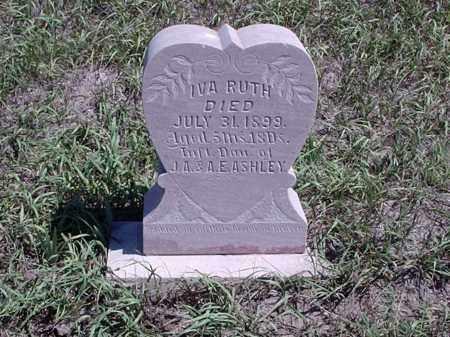 ASHLEY, IVA RUTH - Custer County, Nebraska   IVA RUTH ASHLEY - Nebraska Gravestone Photos