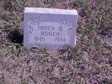ASHLEY ASHLEY, NANCY M. - Custer County, Nebraska | NANCY M. ASHLEY ASHLEY - Nebraska Gravestone Photos