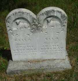 BOOKNAU, ELLA - Custer County, Nebraska | ELLA BOOKNAU - Nebraska Gravestone Photos