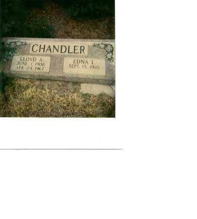 CHANDLER, EDNA L. - Custer County, Nebraska | EDNA L. CHANDLER - Nebraska Gravestone Photos