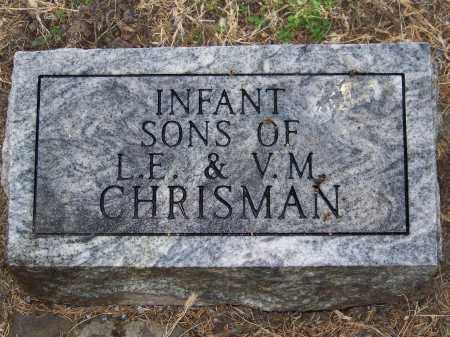 CHRISMAN, INFANT SONS - Custer County, Nebraska | INFANT SONS CHRISMAN - Nebraska Gravestone Photos