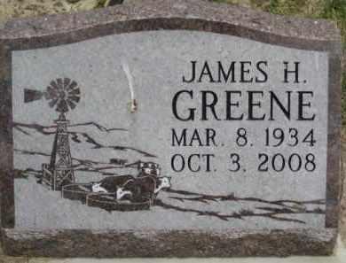 GREENE, JAMES H - Custer County, Nebraska   JAMES H GREENE - Nebraska Gravestone Photos