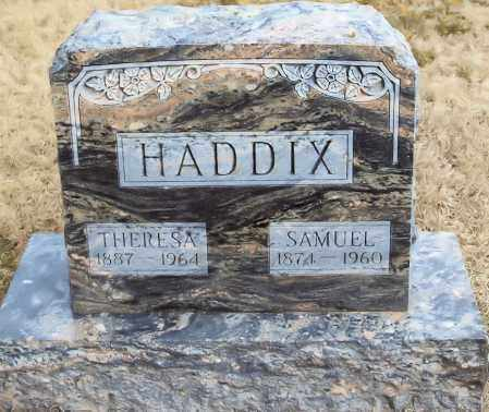 HADDIX, SAMUEL SCOTT - Custer County, Nebraska | SAMUEL SCOTT HADDIX - Nebraska Gravestone Photos
