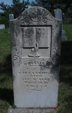 LANPHEAR, ORCILEA - Custer County, Nebraska | ORCILEA LANPHEAR - Nebraska Gravestone Photos