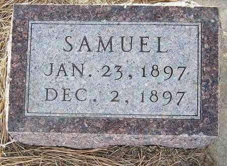 PORATH, SAMUEL - Custer County, Nebraska   SAMUEL PORATH - Nebraska Gravestone Photos