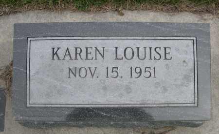 SAFRANEK, KAREN LOUISE - Custer County, Nebraska | KAREN LOUISE SAFRANEK - Nebraska Gravestone Photos