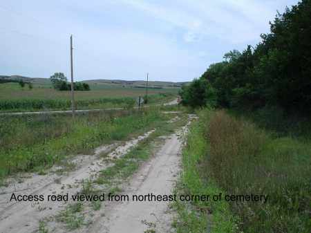 *SELLS VALEY, ACCESS ROAD - Custer County, Nebraska | ACCESS ROAD *SELLS VALEY - Nebraska Gravestone Photos