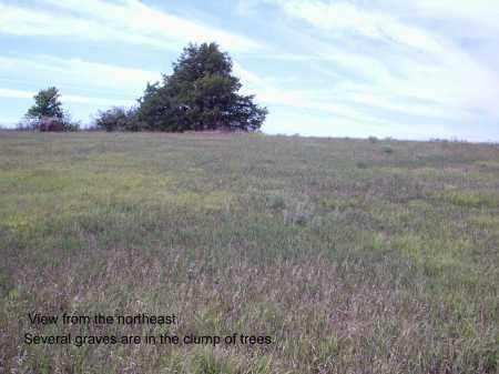 *SELLS VALLEY CEMETERY, LOOKING SOUTHWEST - Custer County, Nebraska   LOOKING SOUTHWEST *SELLS VALLEY CEMETERY - Nebraska Gravestone Photos