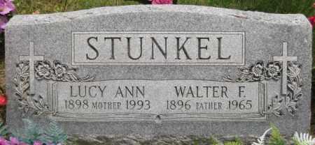 "BOSE STUNKEL, ""LUCY"" ANN - Custer County, Nebraska   ""LUCY"" ANN BOSE STUNKEL - Nebraska Gravestone Photos"