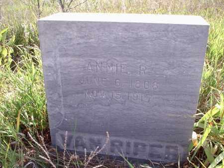 VAN RIPPER, ANNIE R. - Custer County, Nebraska | ANNIE R. VAN RIPPER - Nebraska Gravestone Photos
