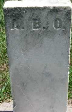 A.B.O., UNKNOWN - Dakota County, Nebraska | UNKNOWN A.B.O. - Nebraska Gravestone Photos