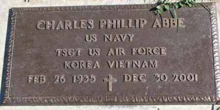 ABBE, CHARLES PHILLIP - Dakota County, Nebraska | CHARLES PHILLIP ABBE - Nebraska Gravestone Photos