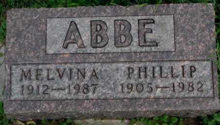 ABBE, PHILLIP - Dakota County, Nebraska | PHILLIP ABBE - Nebraska Gravestone Photos
