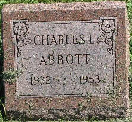 ABBOTT, CHARLES L. - Dakota County, Nebraska | CHARLES L. ABBOTT - Nebraska Gravestone Photos