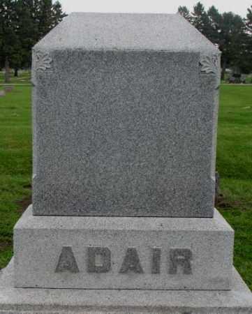 ADAIR, PLOT - Dakota County, Nebraska | PLOT ADAIR - Nebraska Gravestone Photos