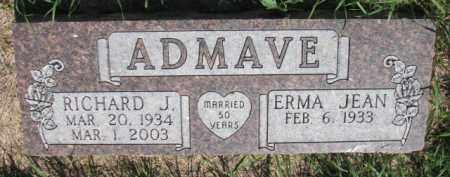 ADMAVE, RICHARD J. - Dakota County, Nebraska | RICHARD J. ADMAVE - Nebraska Gravestone Photos