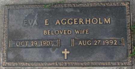 AGGERHOLM, EVA E. - Dakota County, Nebraska | EVA E. AGGERHOLM - Nebraska Gravestone Photos