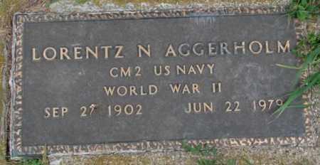 AGGERHOLM, LORENTZ N. - Dakota County, Nebraska | LORENTZ N. AGGERHOLM - Nebraska Gravestone Photos