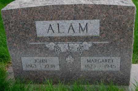 ALAM, MARGARET - Dakota County, Nebraska | MARGARET ALAM - Nebraska Gravestone Photos