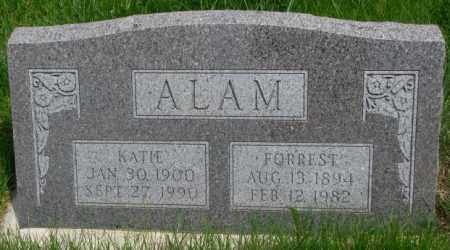 ALAM, FORREST - Dakota County, Nebraska   FORREST ALAM - Nebraska Gravestone Photos