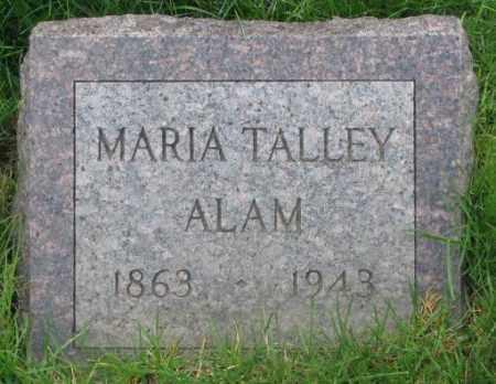 ALAM, MARIA - Dakota County, Nebraska | MARIA ALAM - Nebraska Gravestone Photos