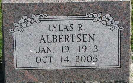 ALBERTSEN, LYLAS R. - Dakota County, Nebraska | LYLAS R. ALBERTSEN - Nebraska Gravestone Photos