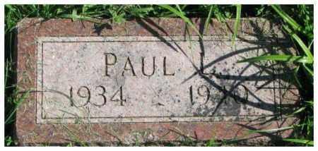 ALBERTSON, PAUL - Dakota County, Nebraska | PAUL ALBERTSON - Nebraska Gravestone Photos