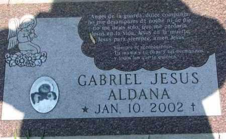 ALDANA, GABRIEL JESUS - Dakota County, Nebraska | GABRIEL JESUS ALDANA - Nebraska Gravestone Photos