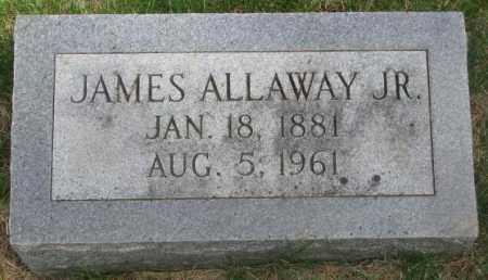 ALLAWAY, JAMES JR. - Dakota County, Nebraska | JAMES JR. ALLAWAY - Nebraska Gravestone Photos