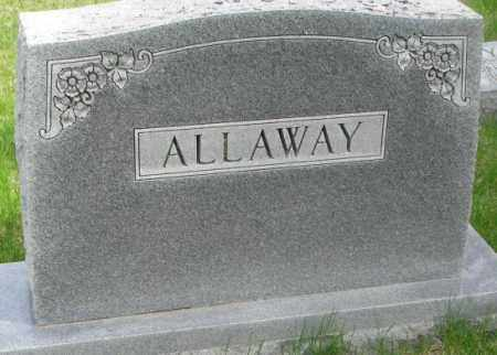 ALLAWAY, PLOT - Dakota County, Nebraska | PLOT ALLAWAY - Nebraska Gravestone Photos