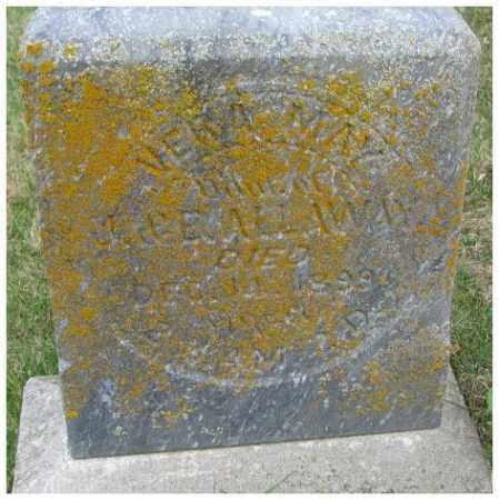 ALLAWAY, VERA MAY - Dakota County, Nebraska | VERA MAY ALLAWAY - Nebraska Gravestone Photos