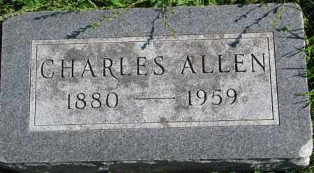 ALLEN, CHARLES - Dakota County, Nebraska   CHARLES ALLEN - Nebraska Gravestone Photos