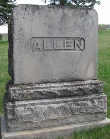 ALLEN, PLOT - Dakota County, Nebraska | PLOT ALLEN - Nebraska Gravestone Photos