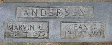ANDERSEN, MARVIN G. - Dakota County, Nebraska | MARVIN G. ANDERSEN - Nebraska Gravestone Photos